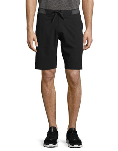 Reebok Epic Knit Waistband Shorts-BLACK-Small 89793663_BLACK_Small
