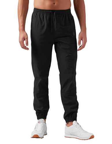 Reebok Training Supply Woven Jogger-BLACK-X-Large