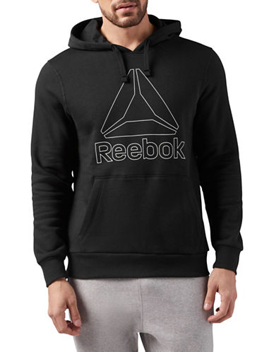 Reebok Elements Big Logo Fleece Hoodie-BLACK-Small 89782793_BLACK_Small