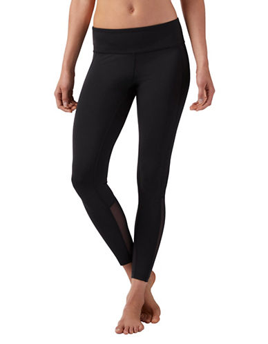 Reebok Mesh Leggings-BLACK-Small 89909345_BLACK_Small