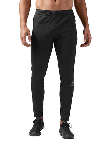 Reebok SpeedWick Knit Trackster Pants-BLACK-Large 89782769_BLACK_Large