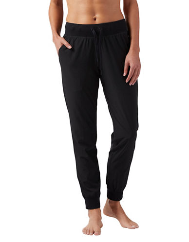 Reebok Woven Jogger Pants-BLACK-Medium 90060778_BLACK_Medium