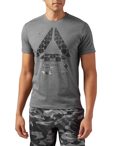 Reebok Speedwick Graphic T-Shirt-GREY-XX-Large 89793677_GREY_XX-Large