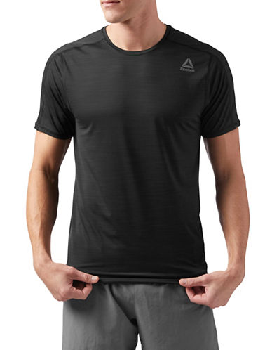 Reebok Activechill Move T-Shirt-BLACK-X-Large