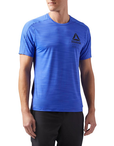 Reebok Activchill Graphic Move T-Shirt-BLUE-Large
