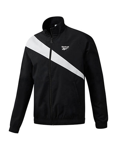 Reebok Classics Tracktop Sweater-BLACK/WHITE-Medium 90081375_BLACK/WHITE_Medium