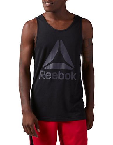 Reebok Workout Ready Supremium 2.0 Tank Top-BLACK-X-Large 90084412_BLACK_X-Large