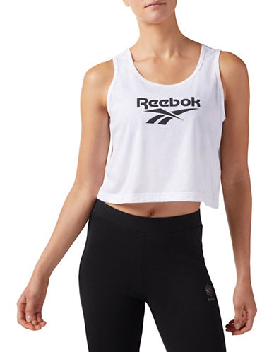 Reebok Cropped Tank Top-WHITE-X-Large 89745349_WHITE_X-Large