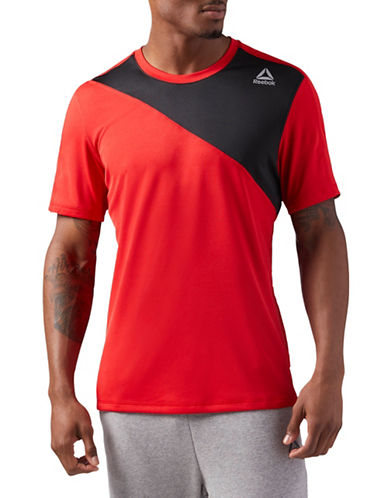 Reebok Workout Ready Tech Top-RED-X-Large 89793646_RED_X-Large