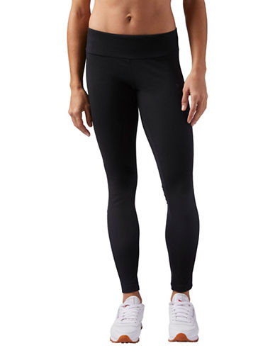 Reebok Classic Stretch Leggings-BLACK-Medium 89797496_BLACK_Medium