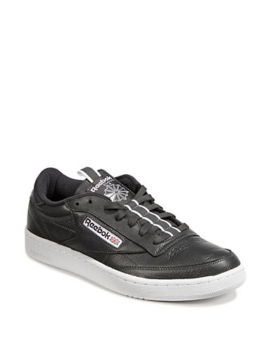 Reebok Mens Club Leather Sneakers-GREY-10.5 90047525_GREY_10.5