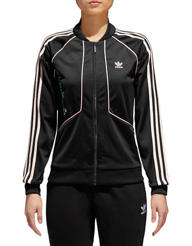 Adidas Originals Embroidered Track Jacket-BLACK-X-Small 89979222_BLACK_X-Small