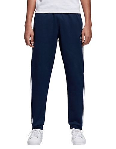 Adidas Originals Three-Stripe French Terry Track Pants-CONAVY-Small 90009116_CONAVY_Small