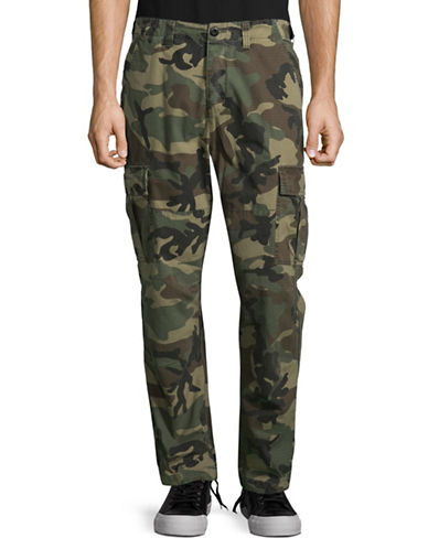 Stussy Ripstop Cotton Cargo Pants-GREEN-31