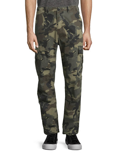 Stussy Ripstop Cotton Cargo Pants-GREEN-32