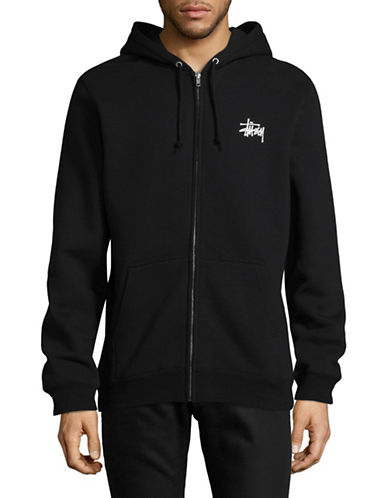 Stussy Zip Hoodie-BLACK-Small 89299436_BLACK_Small