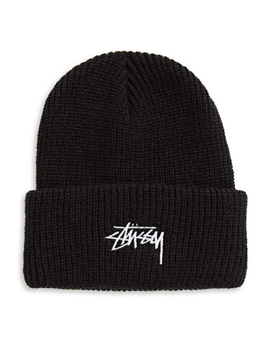 Stussy Stock Cuff Beanie-GREEN-One Size