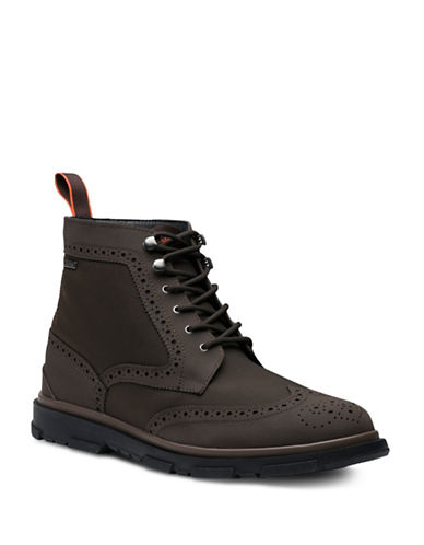 Swims Storm Lace-Up Boots-BLACK-9