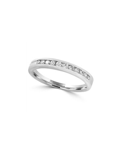 Effy 14K White Gold Ring with 0.24 TCW Diamonds-WHITE GOLD-7