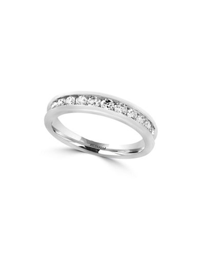 Effy 14K White Gold Ring with 0.49 TCW Diamonds-WHITE GOLD-7