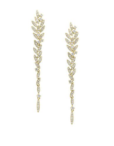 Effy 14K Yellow Gold Drop Earrings with 0.68TCW Diamonds-WHITE-One Size