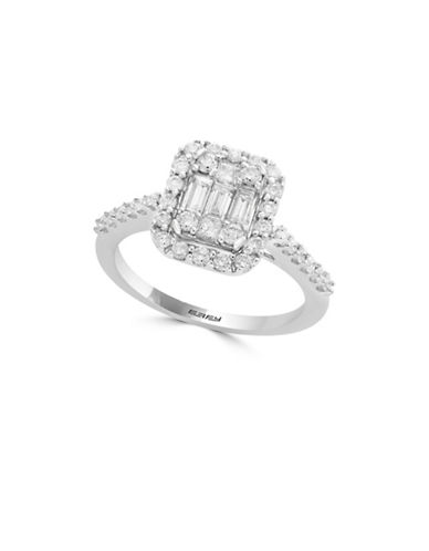 Effy 14K White Gold Solitaire Ring with 0.74 TCW Diamonds-WHITE GOLD-7