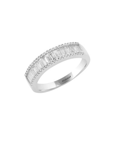 Effy 14k White Gold Ring with 0.77 tcw-DIAMOND-7