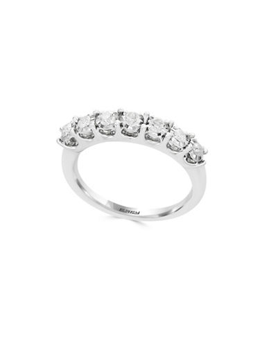 Effy 14K White Gold Ring with 0.32 TCW Diamonds-WHITE GOLD-7