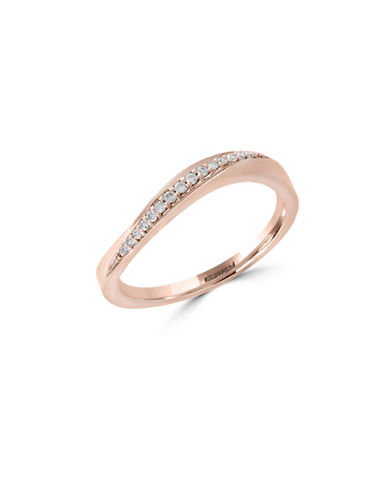 Effy 14K Rose Gold Ring with 0.08 tcw Diamonds-ROSE GOLD-7