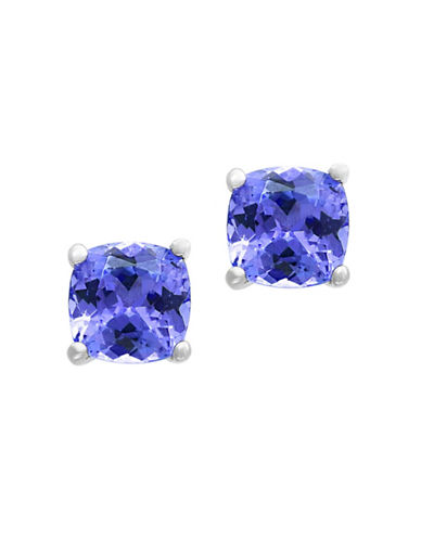 Effy Tanzanite and Sterling Silver Stud Earrings-TANZANITE-One Size