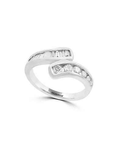 Effy 14K White Gold Ring with 0.61 TCW Diamonds-WHITE GOLD-7