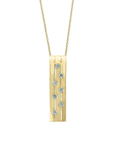 Effy Diamond, 14K Yellow Gold & 14K Gold Pendant Necklace-GOLD-One Size