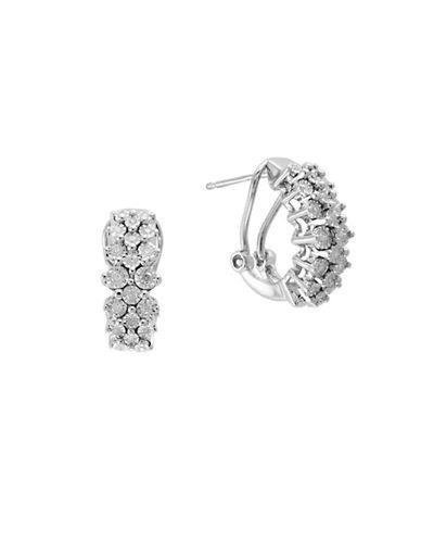 Fine Jewellery Sterling Silver 0.32 TCW Diamond Earrings 89864574
