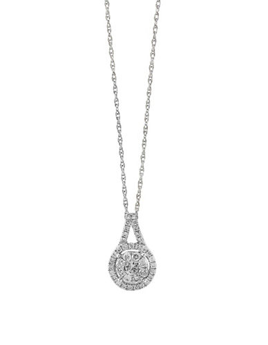 Accessories fine jewellery 049 tcw diamond and 14k white gold effy 049 tcw diamond and 14k white gold pendant necklace aloadofball Image collections