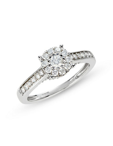 Effy 14K White Gold with 0.5 TCW Diamond Ring-DIAMOND-7