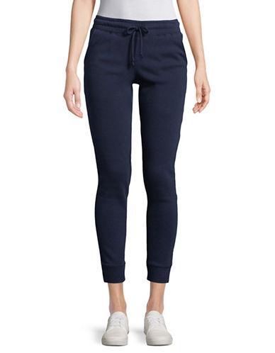 Spiritual Gangster Old English Cotton Jogger Pants-BLUE-Medium 89527031_BLUE_Medium