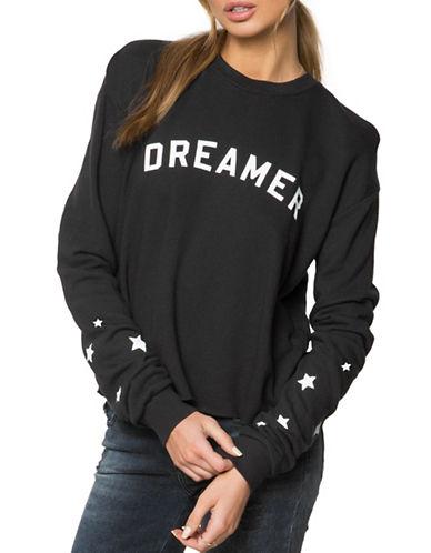 Spiritual Gangster Dreamer Star Sweatshirt-BLACK-Large