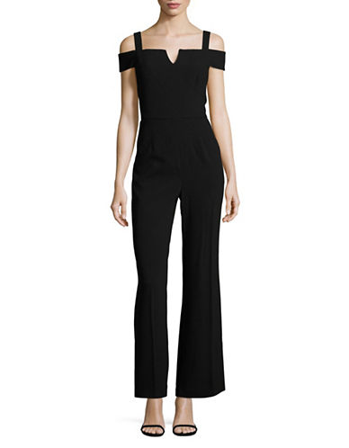Tahari Cold-Shoulder Jumpsuit-BLACK-8