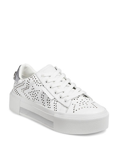 Kendall + Kylie Tyler7 Platform Sneakers-WHITE-8.5