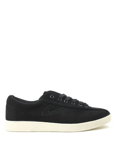 Tretorn Nylite Leather Sneaker-BLACK-6.5