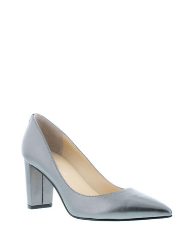 Ivanka Trump Lysa Point Toe Pumps-PEWTER-6