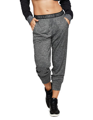Under Armour Play-Up Heathered Pants-BLACK-Small 89957063_BLACK_Small