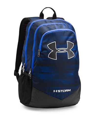 Under Armour UA Storm Scrimmage Backpack-BLUE-One Size