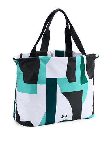 Under Armour UA Printed Cinch Bag-BLACK/MULTI-One Size