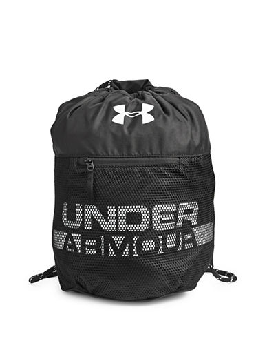 Under Armour Kids Select Drawstring Sackpack-BLACK-One Size 89792519_BLACK_One Size