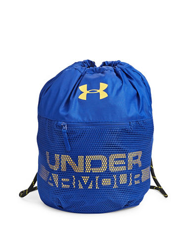 Under Armour Kids Select Drawstring Sackpack-ROYAL BLUE-One Size