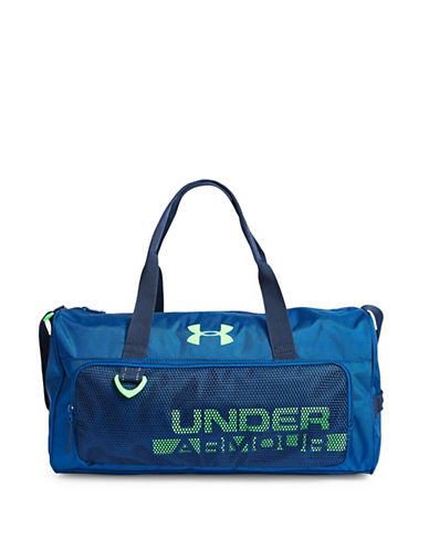 Under Armour Kids Select Duffel Bag-BLUE-One Size