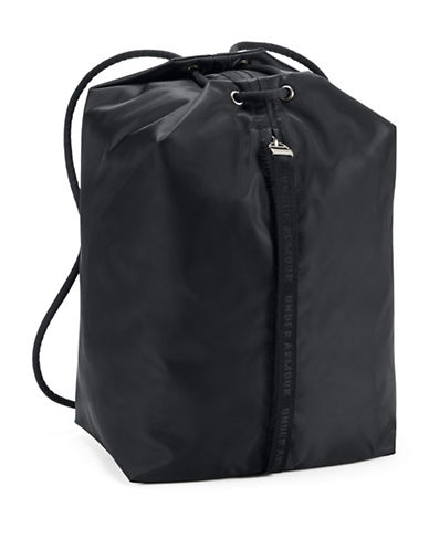 Under Armour Essentials Sack Pack-BLACK-One Size
