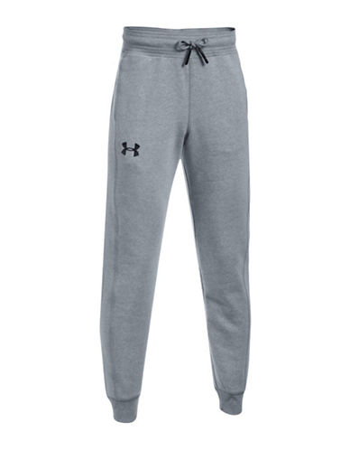 Under Armour Threadborne Joggers-GREY-Large
