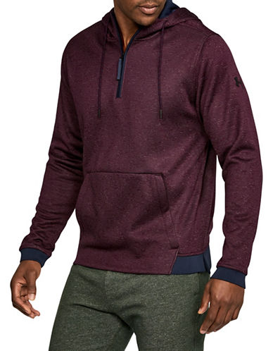 Under Armour Storm Half-Zip Hoodie-RED-Medium 89671519_RED_Medium